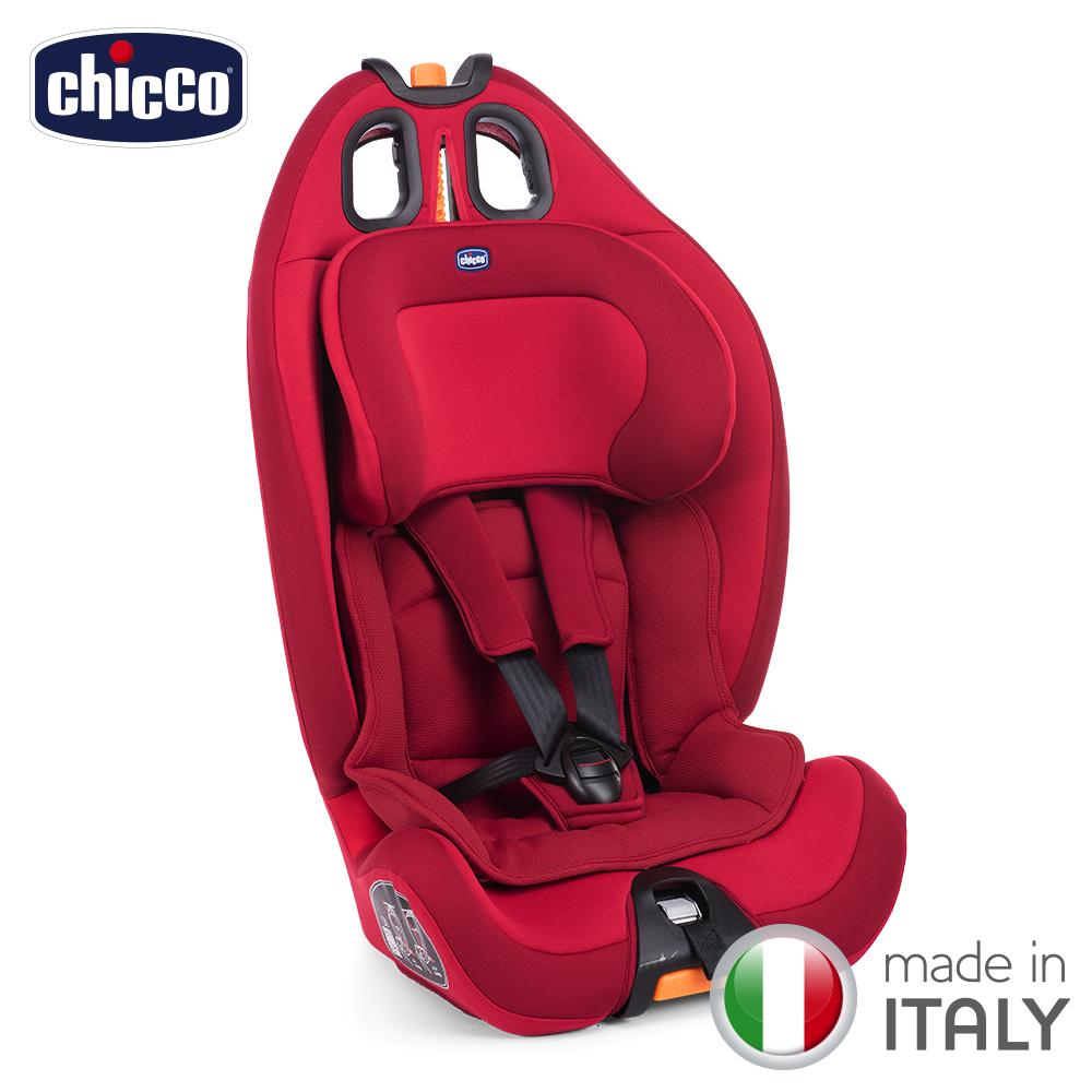 chicco-Gro-Up 123成長型安全汽座-耀動紅