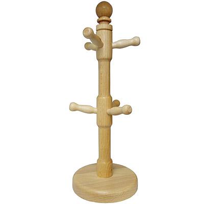 KitchenCraft 櫸木掛式杯架