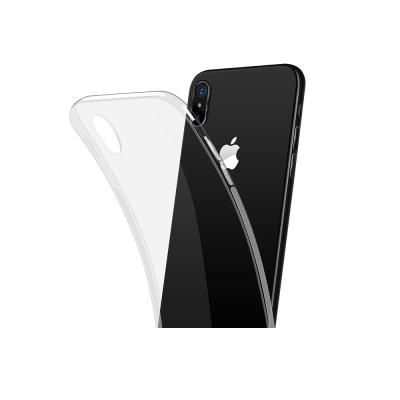 iPhoneX高清透明軟殼手機殼 輕薄不發黃