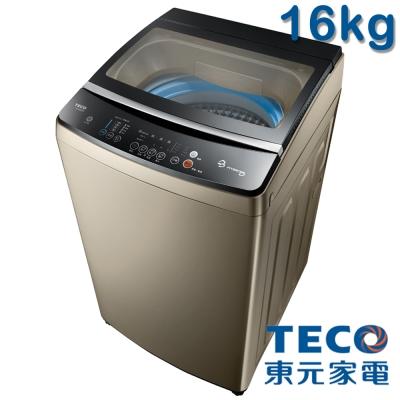 [無卡分期12期]TECO東元16kg DD直驅變頻洗衣機W1688XG