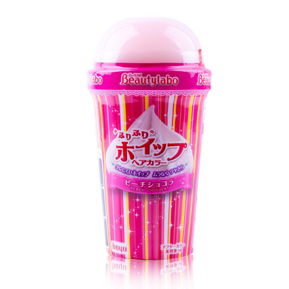 Beautylabo美芯研搖搖慕斯染髮劑-蜜桃巧克力