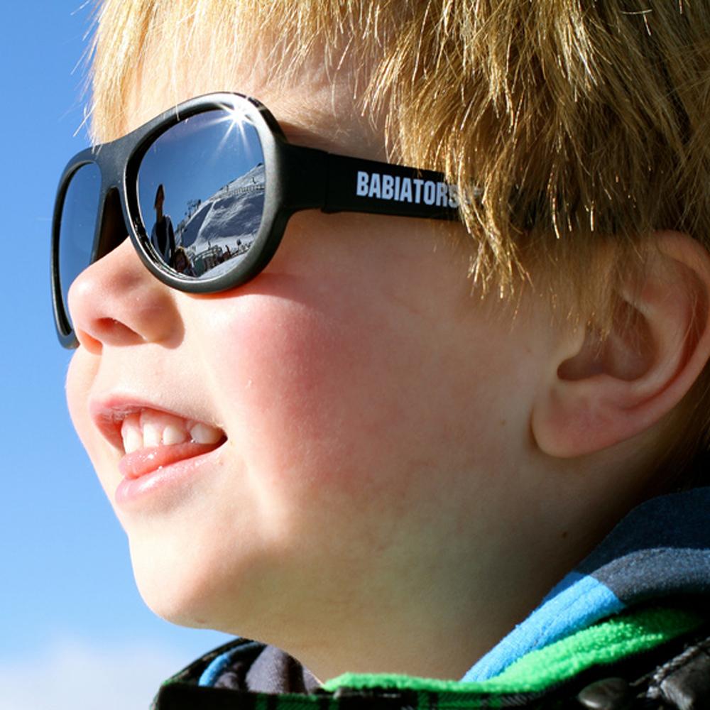 美國BABIATORS 嬰幼兒太陽眼鏡 搖滾黑
