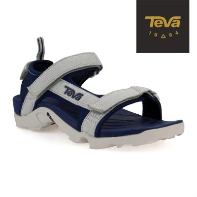 TEVA 美國 中童 K Tanza 運動涼鞋(藍灰)