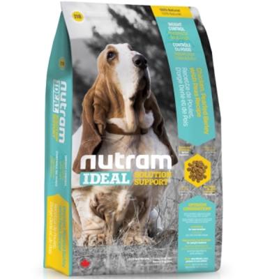 Nutram紐頓 I18體重控制犬/雞肉碗豆配方 2.72kg/包 2包組【2136】