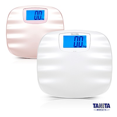 日本 TANITA 波浪珠貝全自動電子 體重計 HD-390 (二色任選)