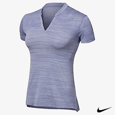NIKE ZONAL COOLING 女子超輕透運動上衣 藍 884856-522