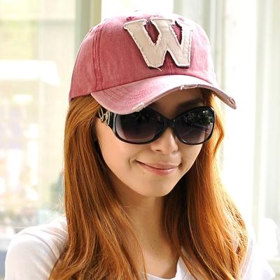 Aimee-Toff-休閒自我大W棒球帽-紅