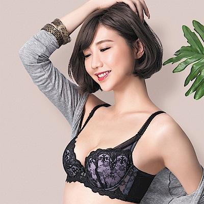 莎薇-魔力推推系列B-C罩杯內衣(墨黑色)