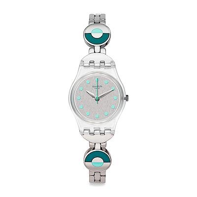 Swatch 情迷地中海  BLUE PASTEL 柔和青藍手錶