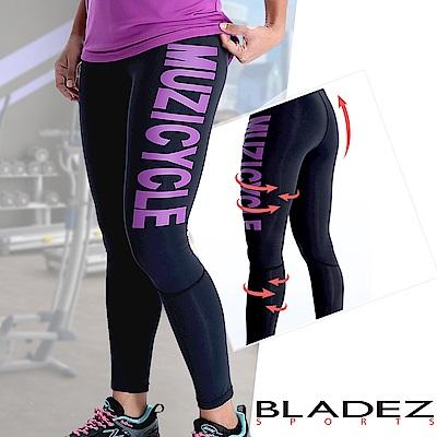 【MUZICYCLE】女款機能雙壓力運動褲-L