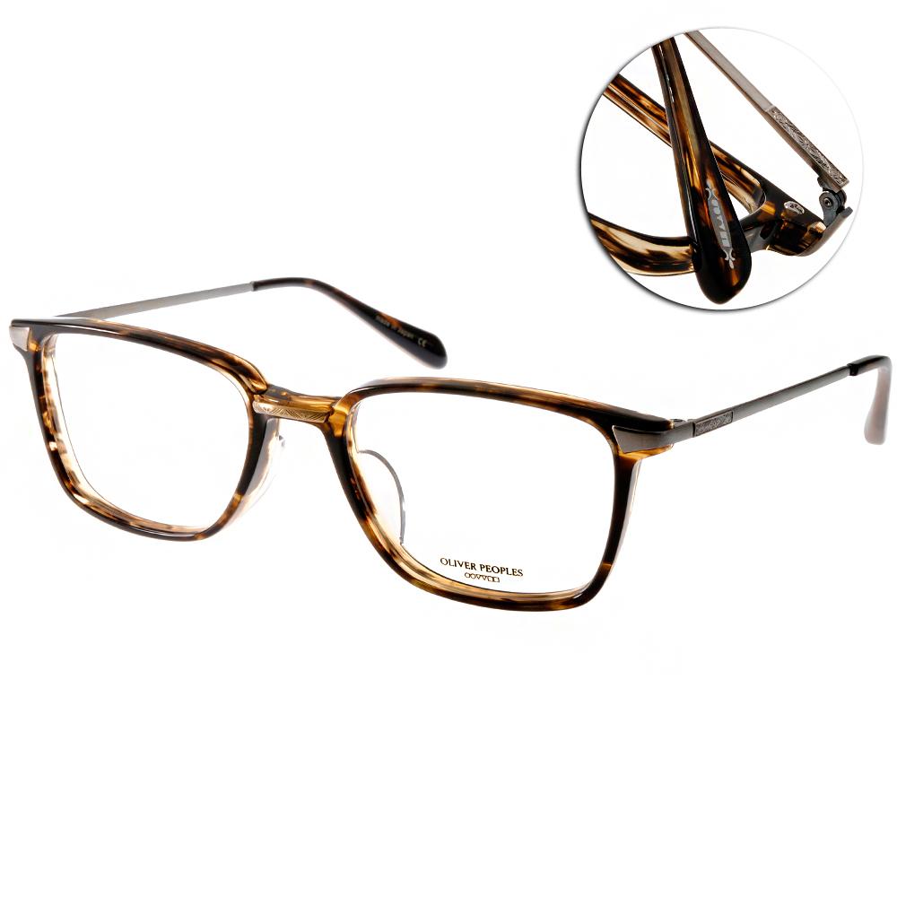OLIVER PEOPLES眼鏡 好萊塢星鏡/琥珀棕#HAL 1382