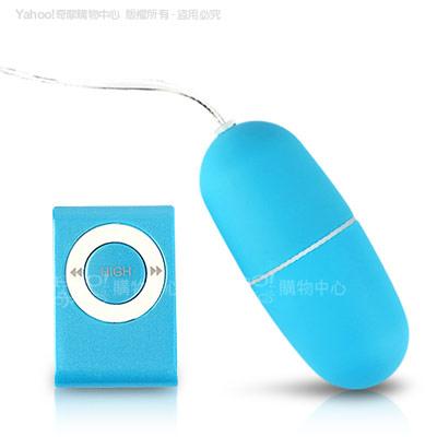 香港Venus-MY-EGG 20頻防水靜音遙控跳蛋-藍(快速到貨)