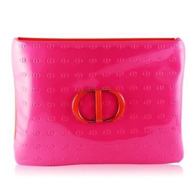 Dior 拼接雙色亮采化妝包