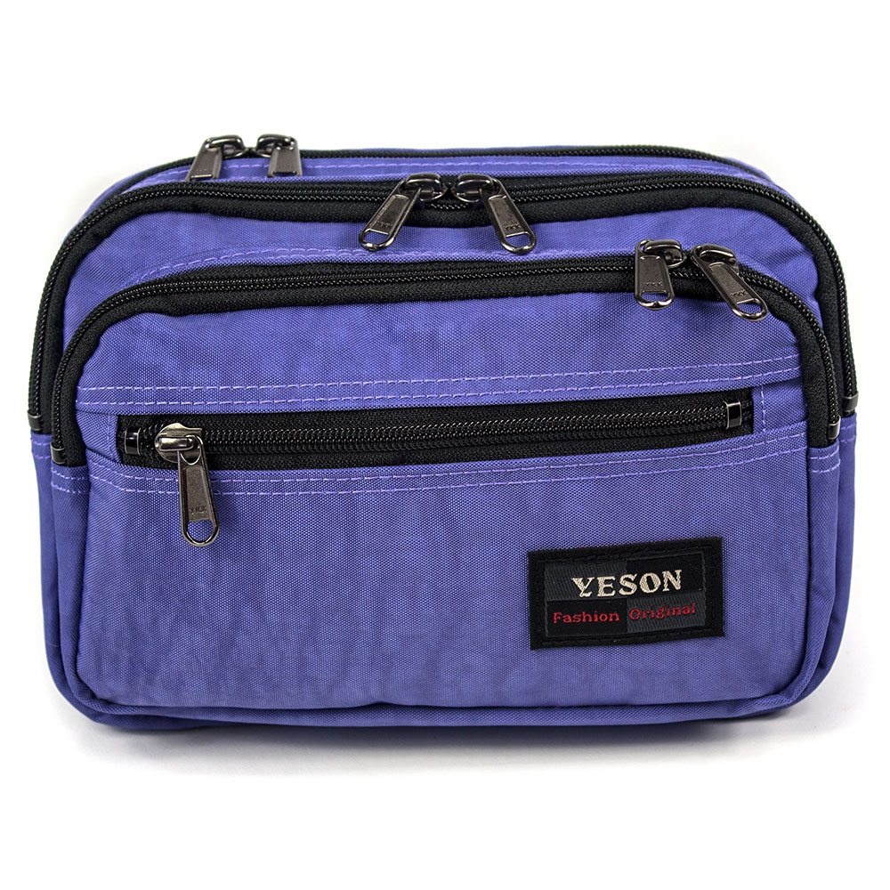 YESON - 多拉鍊隔層腰包三色可選MG-738