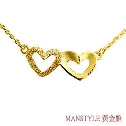 Manstyle「同心合意」黃金小套鍊