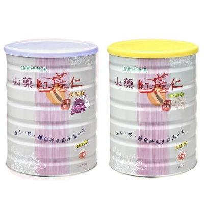 【二林農會】山藥紅薏仁葡萄籽粉750g+山藥紅薏仁蜂膠粉750g(共2罐)