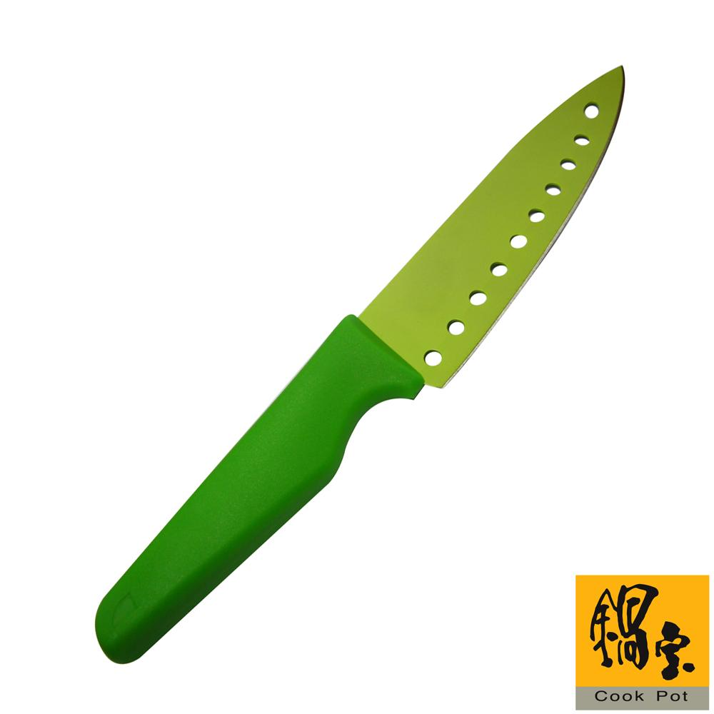 鍋寶 炫彩水果刀(蘋果綠)WP-803