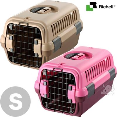 日本Richell 外出時尚運輸提籠 犬貓用 S