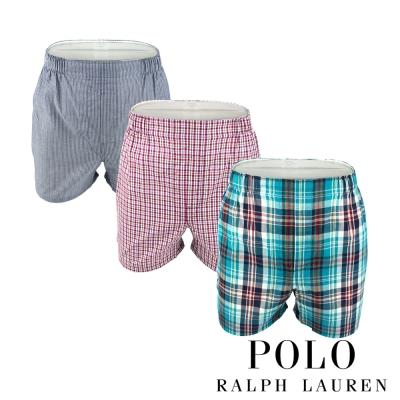 Polo Ralph Lauren 經典馬球純棉平口褲-3入組(VND)