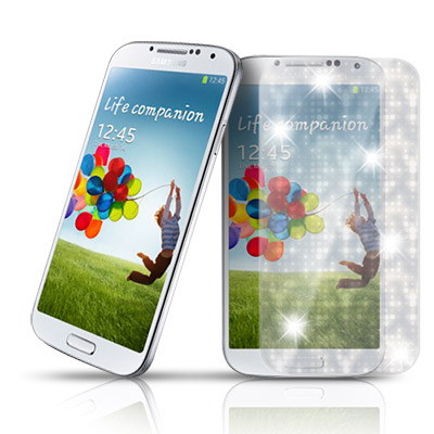 D&A Samsung  Galaxy S4專用日本AAA頂級螢幕保護貼(閃亮星鑽)