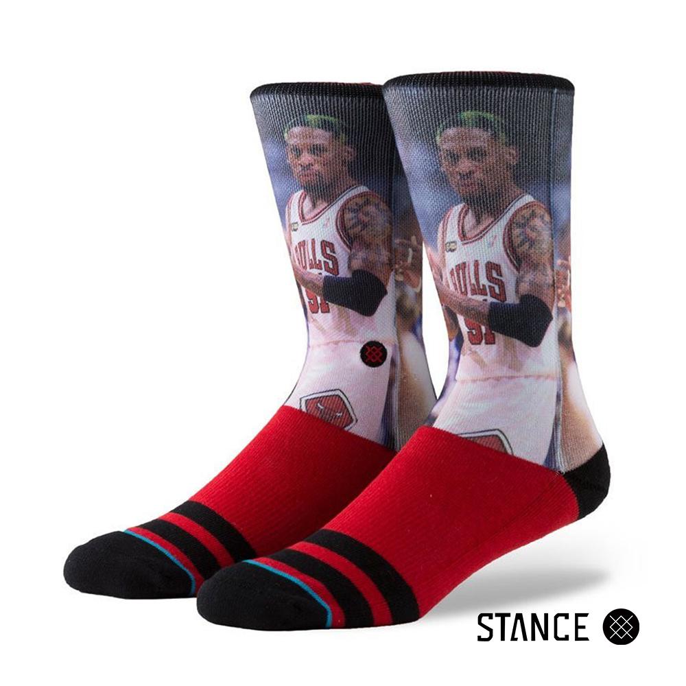 STANCE D.RODMAN-男襪-NBA傳奇球星襪