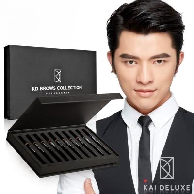 KAI DELUXE 型色大師 專業特調眉筆禮盒(10色)