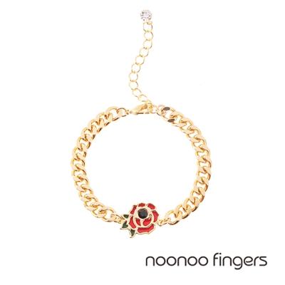 Noonoo Fingers Rose Bracelet 玫瑰 手鍊