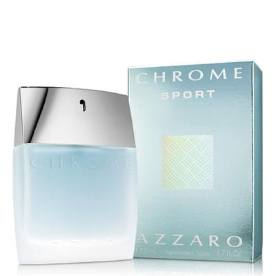 Azzaro Chrome Sport 鉻元素運動型男性淡香水50ml