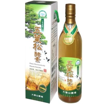 大雪山農場 五葉松酵素(600公克x3瓶)