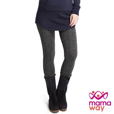 Mamaway 迪士尼公主滿版印花貼腿褲(共二色)