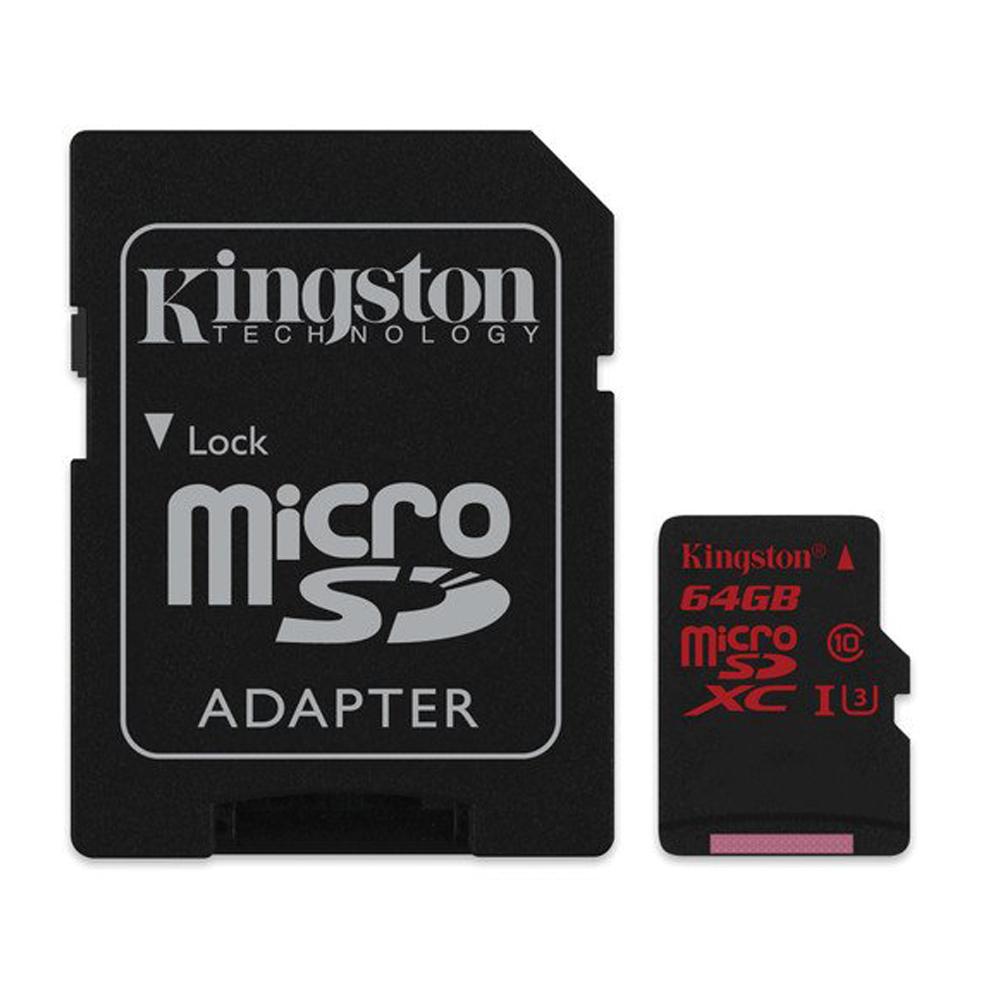 金士頓Kingston microSDXC U3 128GB 記憶卡