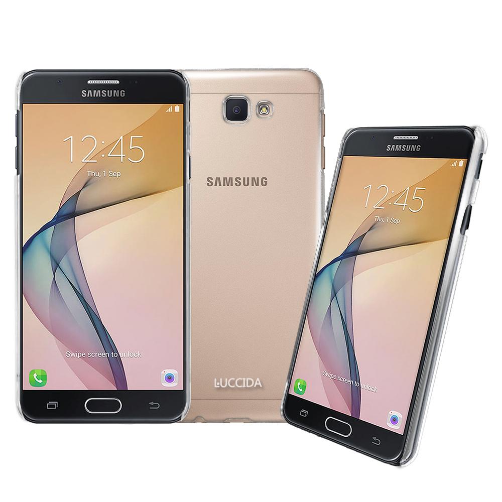 LUCCIDA SAMSUNG Galaxy J7 Prime全透明加強抗刮保護殼