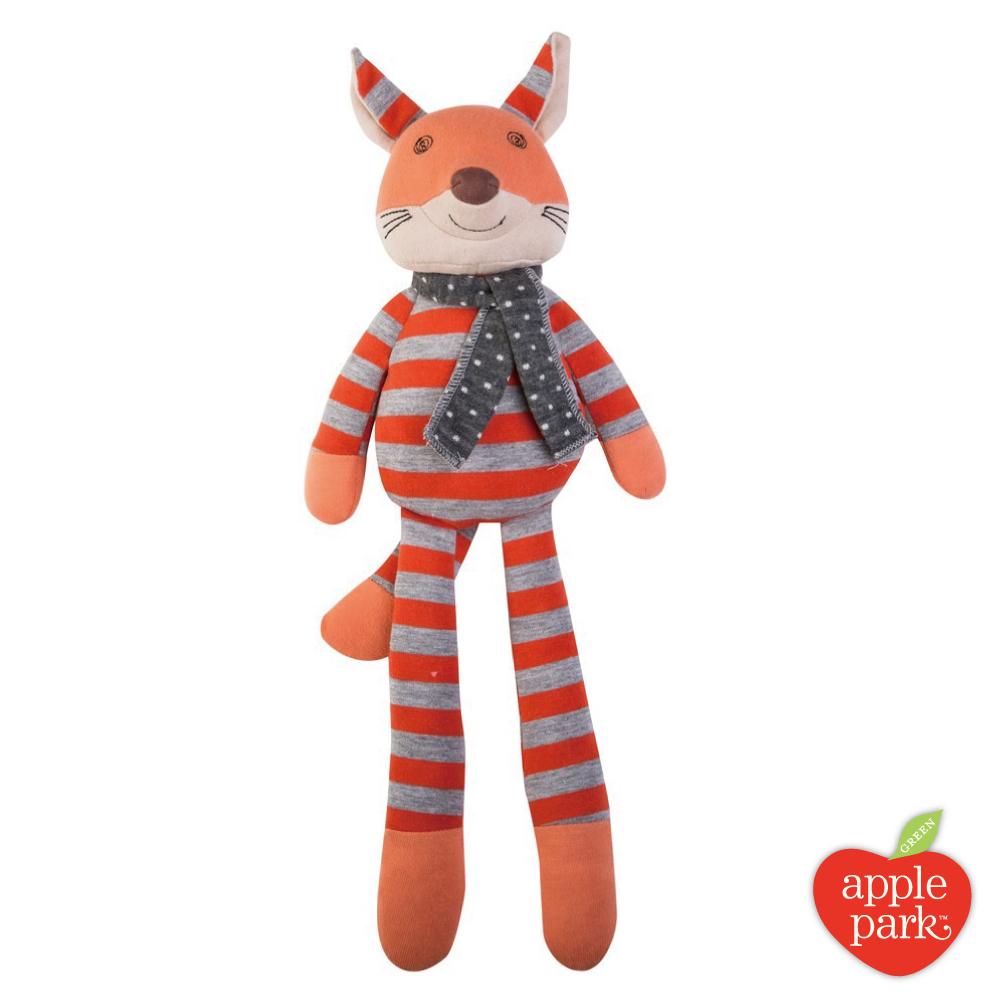 美國 Apple Park 農場好朋友系列 有機棉安撫玩偶 - 法佬狐狸