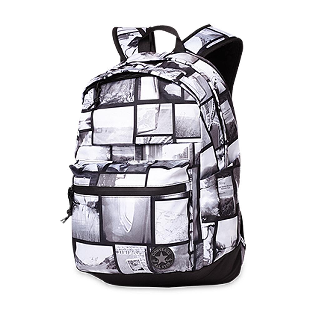 CONVERSE-後背包10005216-A02-混合墨黑色