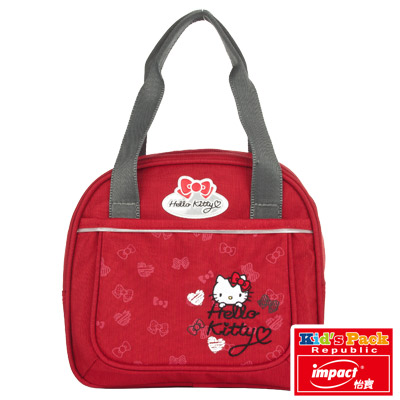 IMPACT X HELLO KITTY-聯名輕量午餐袋紅IMKT104RD