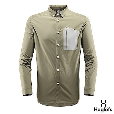 Haglofs 男 Brunn 快排長袖襯衫 聖人綠色
