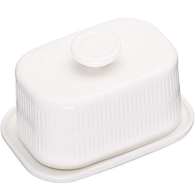 KitchenCraft 附蓋奶油盤(簡約)