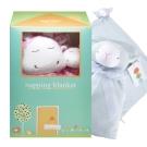 美國 Angel Dear 彌月小屋造型組合-毛毯+安撫巾 (限量上市)