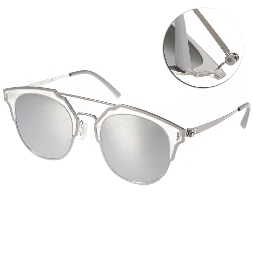 VYCOZ偏光太陽眼鏡 完美創新限量款/銀-水銀鏡面#MOCA SILSSL
