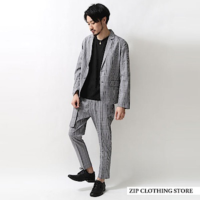 正統風西裝套裝(6色) ZIP日本男裝