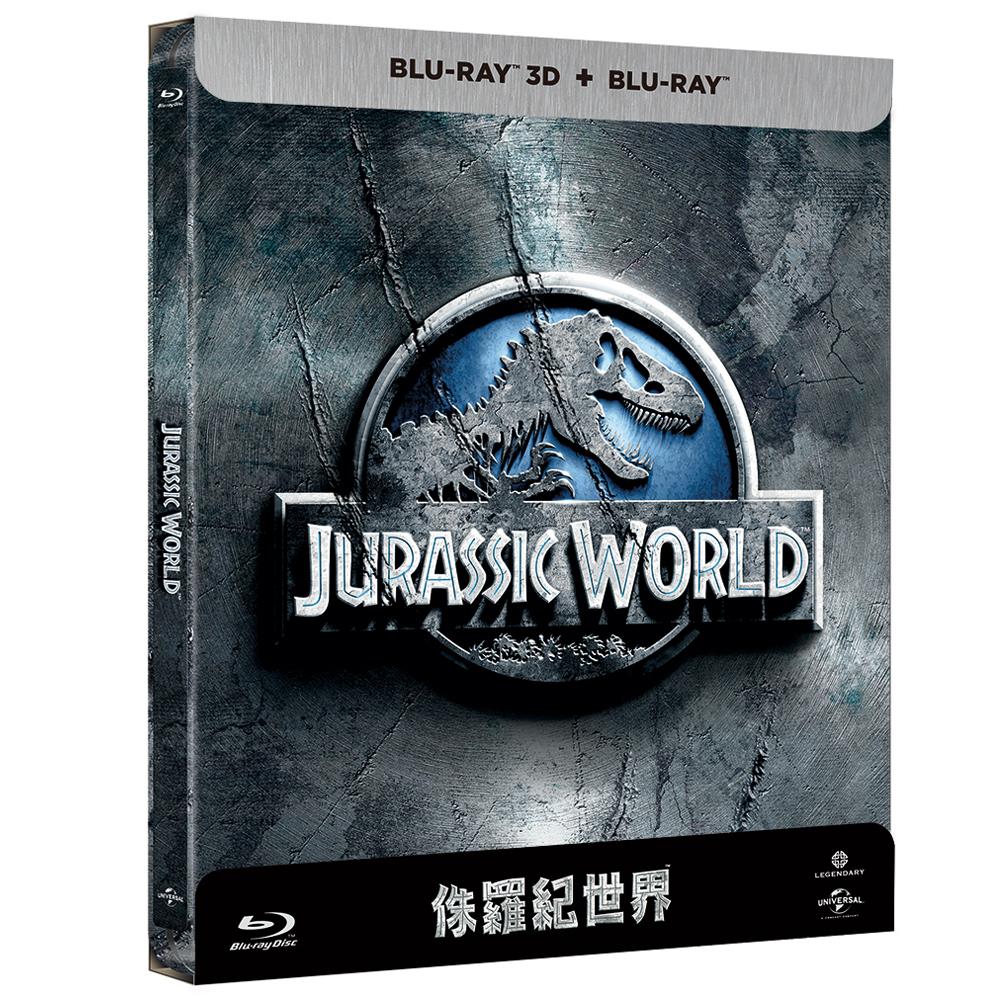 侏羅紀世界 鐵盒版 2D附3D 藍光BD 正式版