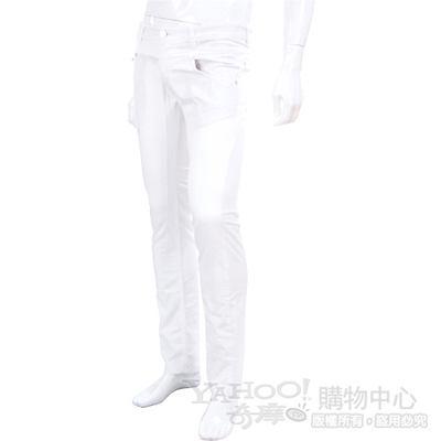 YES LONDON 白色單寧休閒直筒褲
