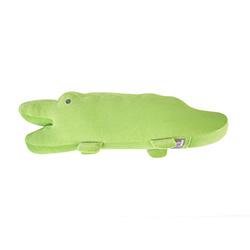 Yvonne Collection鱷魚造型短抱枕-草綠
