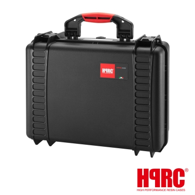 義大利 HPRC 2460C 頂級防撞硬殼箱-內泡棉式(公司貨)-黑色