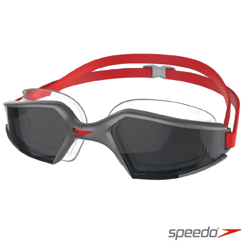 SPEEDO 成人 進階泳鏡Aquapulse Max 2 銀-灰