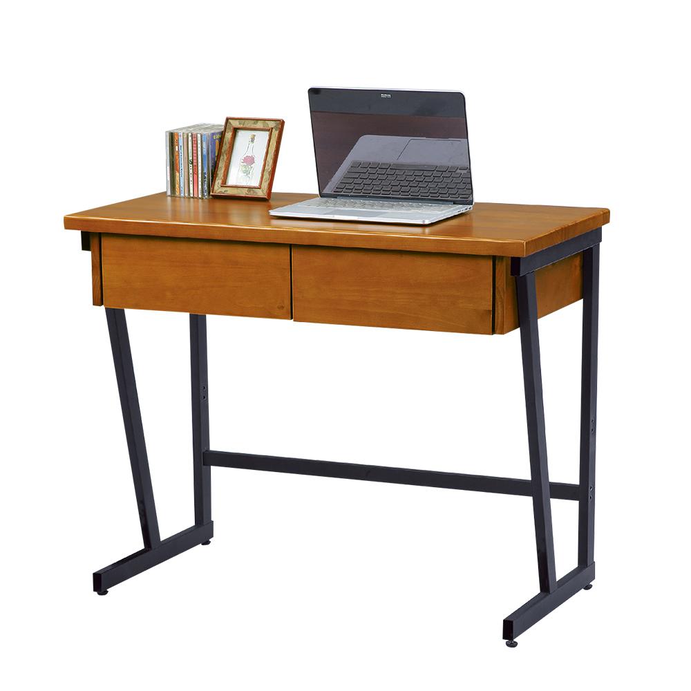 Boden-柏德3尺二抽書桌-90x45x76cm