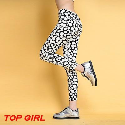 【TOPGIRL】內搭九分褲-共兩色