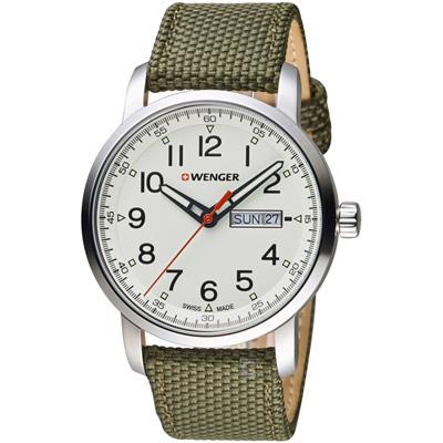 瑞士WENGER Attitude態度系列簡單生活時尚腕錶(01.1541.110)