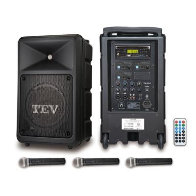 TEV CD/USB/SD三頻無線擴音機 TA680iC-3