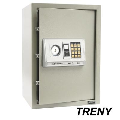 TRENY 三鋼牙 電子式雙鑰匙保險箱 大 4212